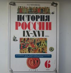 Textbook on the history of Russia, Grade 6, Chernikova TV