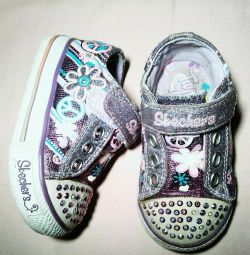 Shimmering Sneakers Skechers, p.21 Insole 12.5