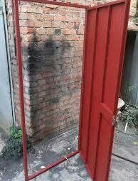 Doors, iron, not warmed