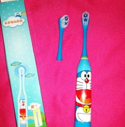 Electric toothbrush with a new nozzle