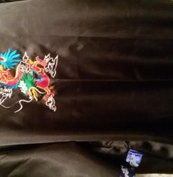 Robe Dragon, mătase, față-verso Thailanda,