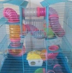 Домик для хомячков