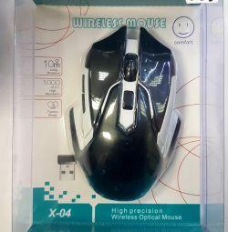 Беспроводная игровая мышь X-04.