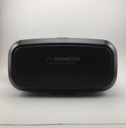 Vr Shinecon helmet with gamepad