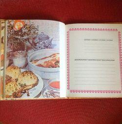 Yemek tarifleri için SSCB kitap