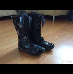 Φουσκωτά μπότες 30 μέγεθος