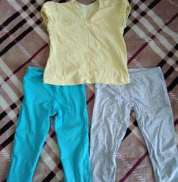 Pantaloni și tricou 122