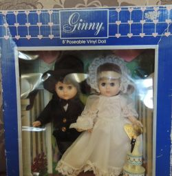 Γαμπρός και νύφη Ginny από τις κούκλες Vogue