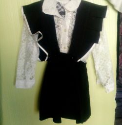 Sundress + blouse