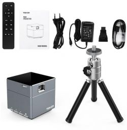 Delivery Mini Projector Tenker S6 Mini Cube Android