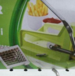 Нож для нарезки картофеля фри