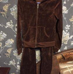 Велюровый костюм Juicy Couture (USA)