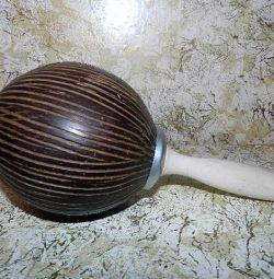 Maracas Nucă de cocos natural.