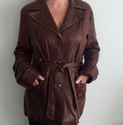 Women's jacket from genuine leather (Greece). Exchange