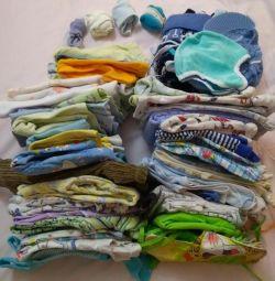 2 pachete de lucruri pentru băiat de la naștere până la an