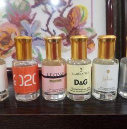 İyi bilinen yağ parfümleri