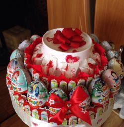 Kinder Chocolate Cake, Kinder Surprise, Raffaello