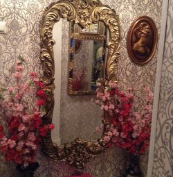 Oglindă într-o baghetă chic