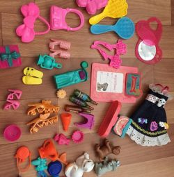Accessories for barbie doll etc