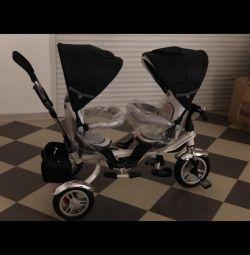 İkizler için bisiklet