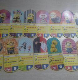 Карточки игровые