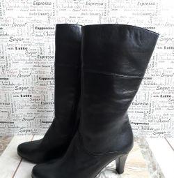 Μπότες γνήσιο δέρμα, καινούριο