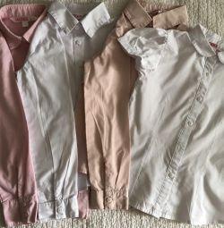 Рубашки Школьные, стоимость за все сразу