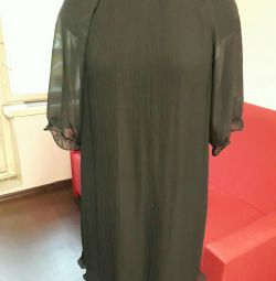 Платье-плиссе р.44-46
