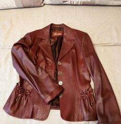 Women's leather jacket. Bargain