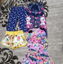 Summer clothes for a girl