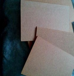 Оргалит,картон для художников