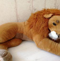 Мягкая игрушка лев 120 см