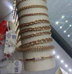 Gold bracelet. 585