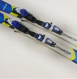 Alpine skiing for children dynastar 100 cm