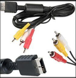 AV кабель для Sony Playstation