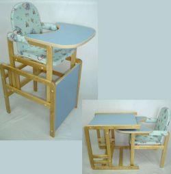 Scaun-masă transformator pentru cuiburi Matryoshka noi