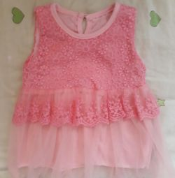 Dresses for girls from 6 months to 1.5 years