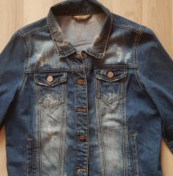 Джинсовий куртка нова