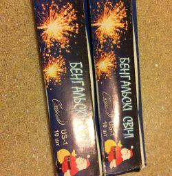 Βεγγαλικά κεριά