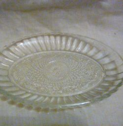 2 NEW glass small dishes