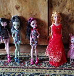 Păpuși. Monster High, May Little Pony, Enchantimal