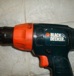 Black decker SL1 3YD screwdriver without charging