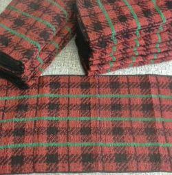Полотенца махровые новые