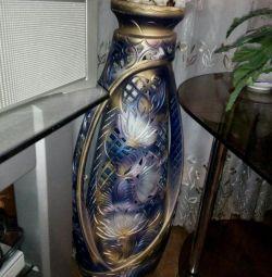 Large flower vase, outdoor