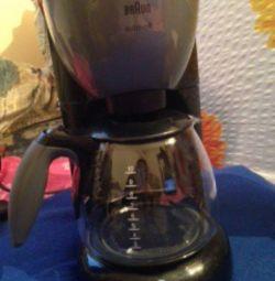 Kahve makinesi kahverengi