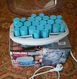 Thermo curlers.