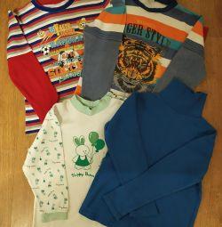 Bluz paketi. Büyüme 104-110