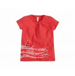 Μπλουζάκι Scarlet Sails, κόκκινο