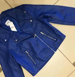 Jachetă din piele Pimkie, nouă