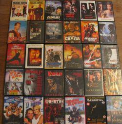 DVD movies, cartoons
